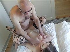 Ulf Larsen lick & fuck Angel, ex-girlfriend & whore!