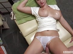 Swiss masseuse with big natural tits takes cash for sex 18