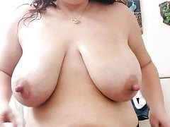 Mommy with huge nipples
